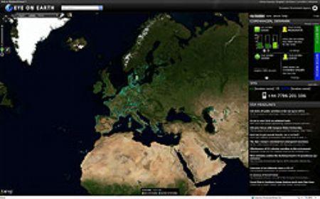 A felhőből figyelő szemek, avagy az Eye on Earth - a Microsoft környezetvédelmi programja